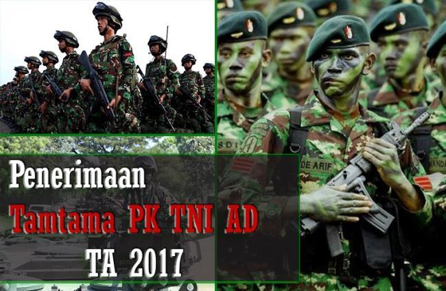 Penerimaan Tamtama TNI AD Gelombang II - TA 2017