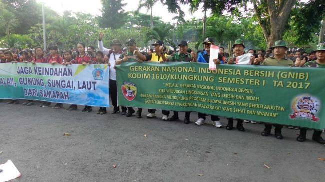 Selenggarakan GNIB, Wujudkan Lingkungan Yang Bersih Dan Indah