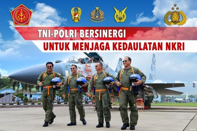 TNI-Polri Bersinergi Untuk Menjaga Kedaulatan NKRI