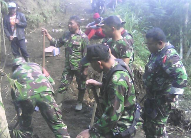 TNI Tetap Beri Bantuan Meski Status Tanggap Darurat Sudah Dicabut