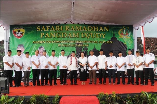 Safari Ramadhan di Makorindam IX/Udayana
