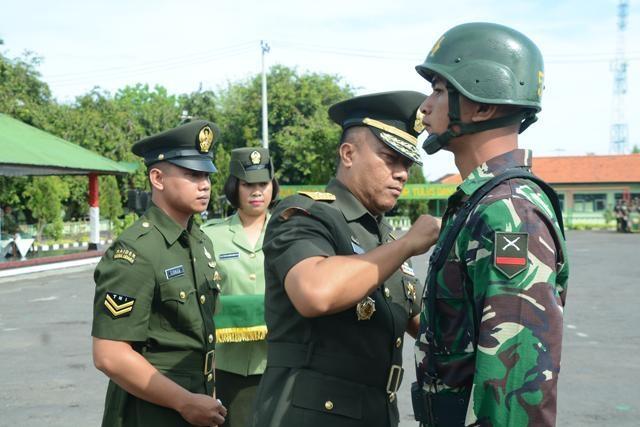 Upacara Pembukaan Pendidikan Calon Tamtama TNI AD Gelombang II Tahap I TA. 2017