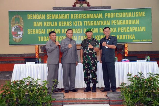 Pangdam IX/Udayana : Koperasi Sebagai Wadah Kesejahteraan Anggotanya