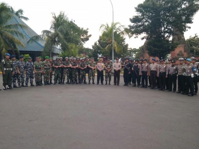 Indonesia Siaga Satu, TNI-Polri Bersinergi Jaga Pintu Masuk Bali