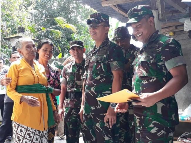 Rehab Rumah Veteran, Pangdam Mohon Doa Restu Agar Prajuritnya Dapat Laksanakan Tugas Dengan Baik