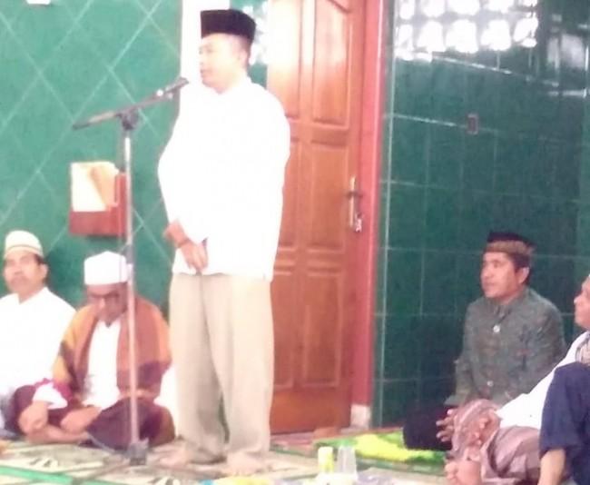 Dandim 1613/SB Hadiri Halalbihalal Antar Masjid Di Waikabubak