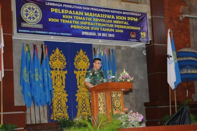 Pangdam IX/Udayana : Terorisme Dan Narkoba Merupakan Kejahatan Luar Biasa