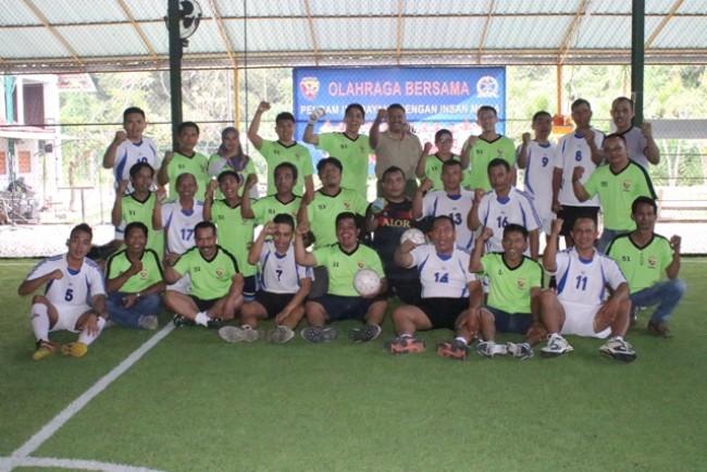 Pererat Kemitraan Dengan Insan Media, Pendam IX/Udayana Gelar Futsal