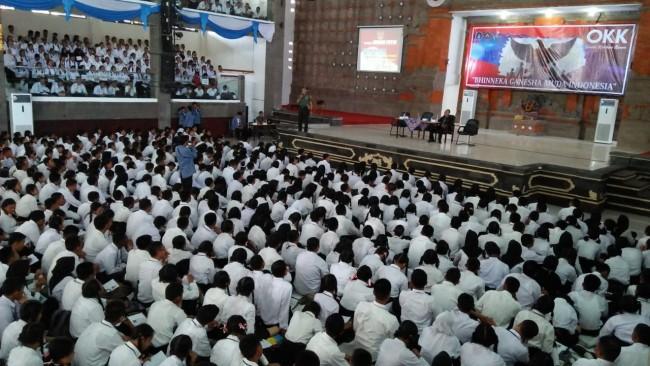 Berikan Wasbang, Dandim Buleleng Ajak Riabuan Mahasiswa Berjuang Mengisi Kemerdekaan