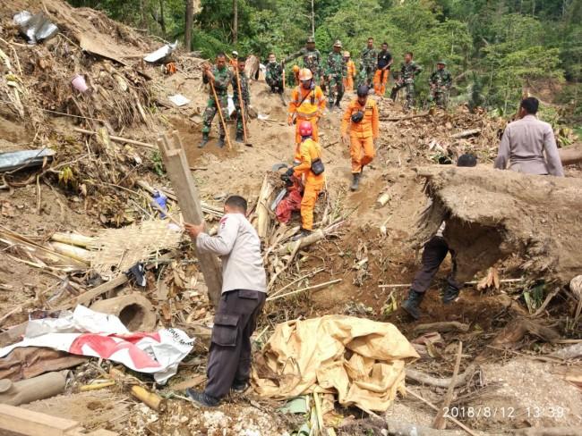 Ribuan Personel TNI Dikerahkan Bersihkan Puing Bangunan Yang Ambruk