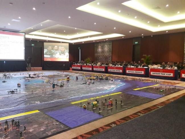 Asops Panglima TNI Cek Kesiapan Pengamanan IMF-WB Annual Meetings 2018