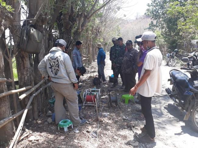 Kodim 1607/Sumbawa Bantu Penuhi Kebutuhan Air Bersih Masyarakat Terdampak Gempa