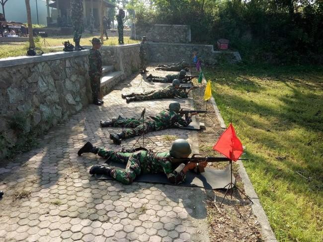 Tingkatkan Dan Pelihara Kemampuan, Korem Gelar Latihan Menembak