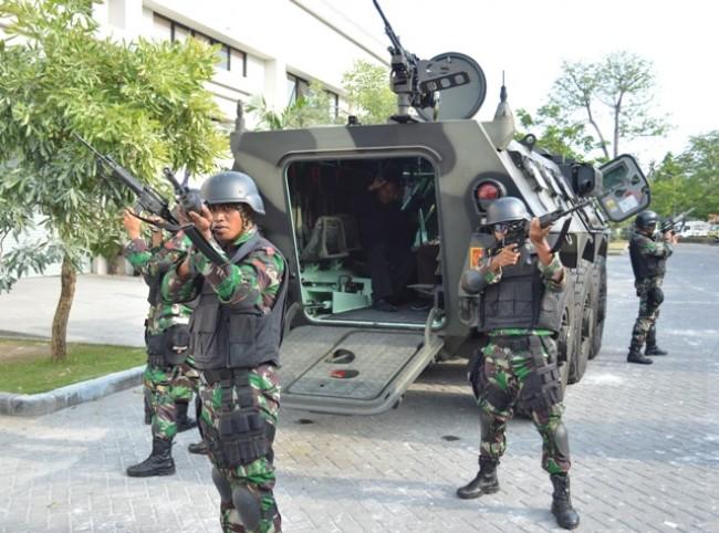 Intensifkan Pengamanan IMF-WB Annual Meetings 2018, Alutsista TNI Disiagakan