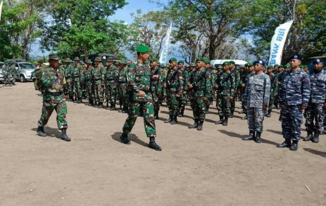 Tutup TMMD Ke 103 di Kabupaten Bima, Danrem 162/WB Tegaskan Imunitas Bangsa