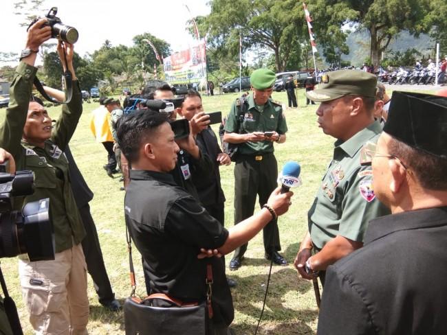 Danrem 163/Wira Satya : Program TMMD Mengandung Aspek Kesejahteraan