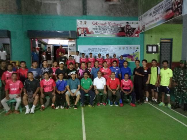 Semarak Hari Juang Kartika di Open Turnamen Bulutangkis Dandim 1628/Sumbawa Barat Cup 2018