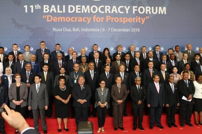 Bali Democracy Forum Ke 11 Tahun 2018 Hari Pertama Berlangsung Aman