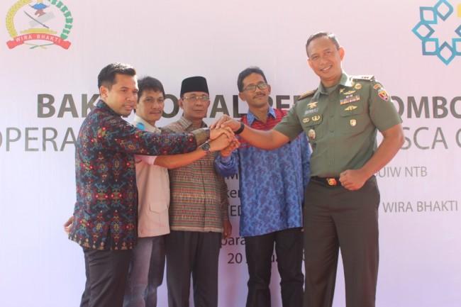 Bhakti Sosial Peduli Lombok, PLN bersama RS. Metro Medika dan Korem 162/WB Gelar Operasi Katarak