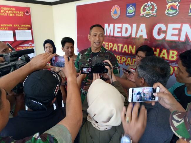 TNI Kerahkan Seribu Personel Tambahan Percepat Rehab Rekon