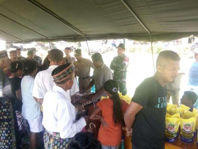 Hanya di Pasar Murah TMMD Manggarai, Harga Sembako 5 hingga 10 Ribu Lebih Murah