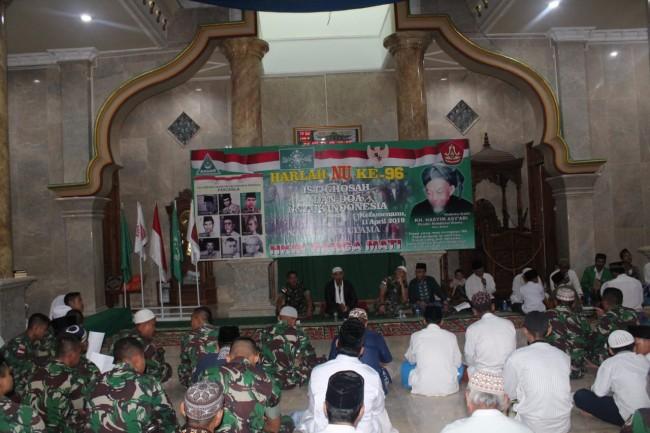 Istigosah dan Doa Bersama Untuk Indonesia, Qori dari Satgas Yonif Mekanis 741/GN Sangat Merdu