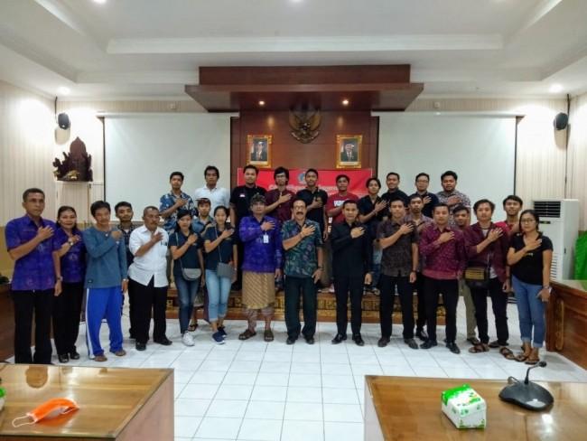 Peringati HUT ke-111 Puputan Klungkung, Kesbangpol bersama Kodim Klungkung Gelar Dialog Kebangsaan