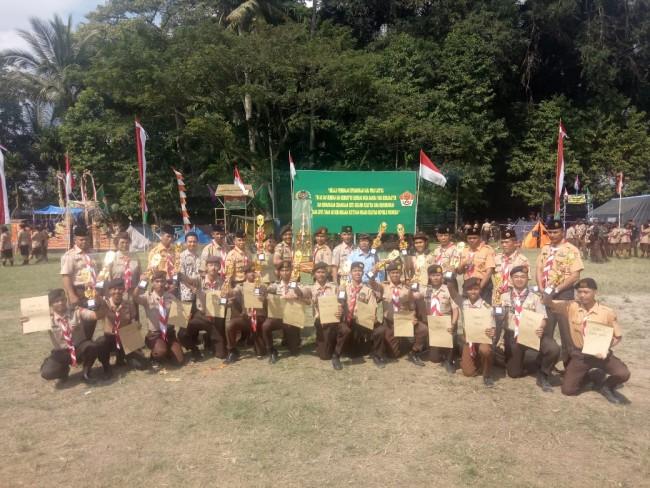 Pramuka SWK Kodim Tabanan Raih Juara Umum, Sementara Kodim Bangli Jadi Juara Favorit