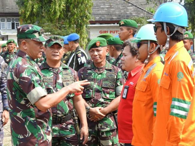 Asops Kasdam IX/Udayana Pimpin Apel Gelar Pasukan Pam VVIP Kunker Istri Wakil Presiden RI