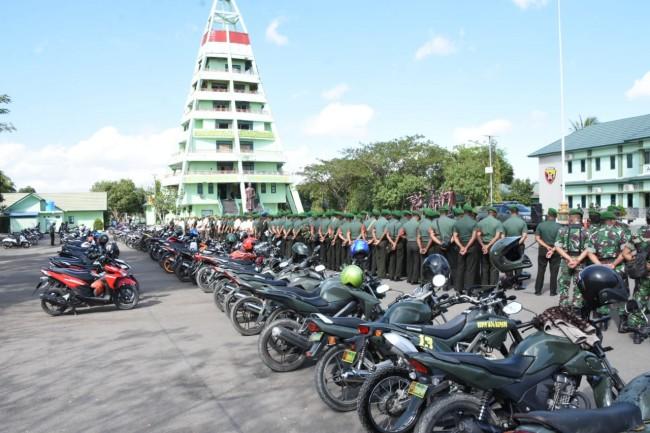 Minimalisir Kerugian Personel Akibat Lakalantas, Korem 161/WS terima PKBB dari Tim Terpadu Spamad