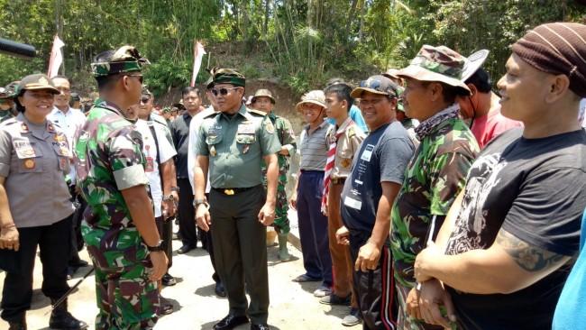 "Irjenad Kunjungi TMMD Ke 106 Kodim Tabanan, Sebut TNI dan Masyarakat ""Ngayah"""