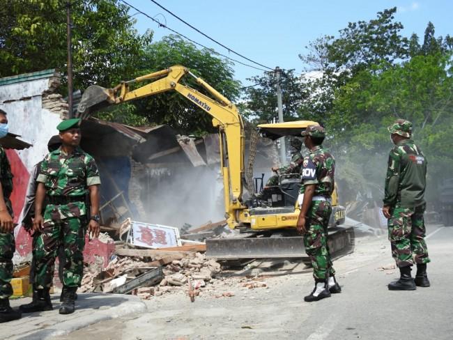 PN Tingkat II Sumbawa Eksekusi Tanah Aset Negara Milik TNI AD
