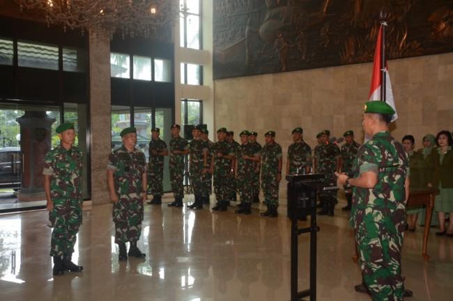 Pangdam Pimpin Sertijab dan Tradisi Laporan Korps Kakesdam IX/Udayana