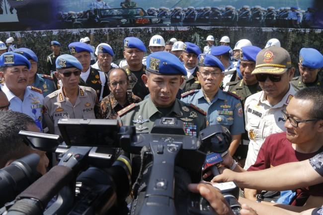 Tingkatkan Profesionalitas TNI melalui Upacara Gelar Ops Gaktib & Yustisi Kodam IX/Udy