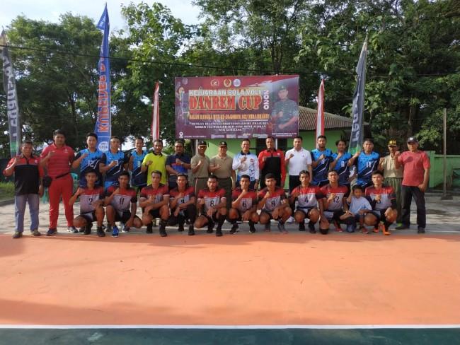 Tiga Belas Club Ikuti Kejuaraan Bola Volly HUT Korem 162/WB di Dompu