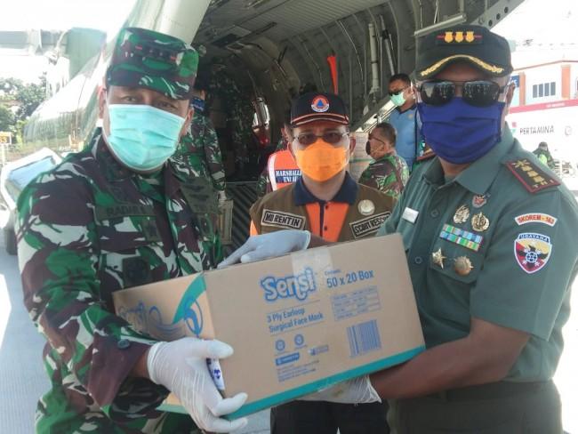 Bali Mendapatkan Tambahan 7.500 APD dan 37.500 Masker Dari Pemerintah Pusat