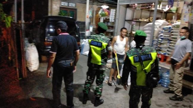 Pastikan Wilayah Banjarangkan Kondusif, TNI-Polri Patroli Bersama