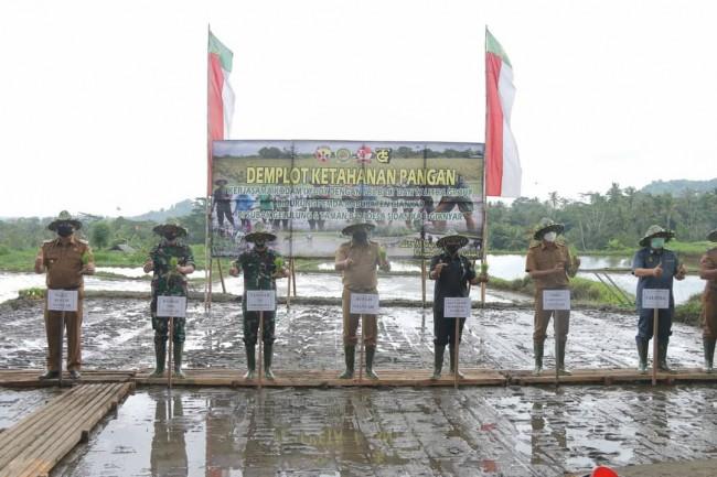 Tingkatkan Ketahanan Pangan, Kodam IX/Udayana Kerjasama dengan PBL, Talitha Group dan Pemkab Gianyar