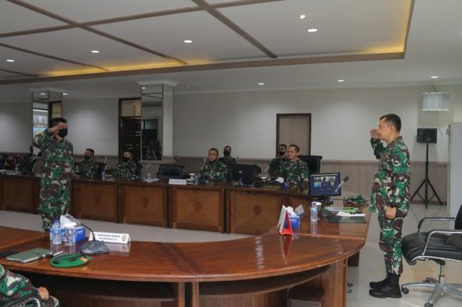 Tim Pusterad Sosialisasikan Lomba Binter TNI AD di Kodam IX/Udayana