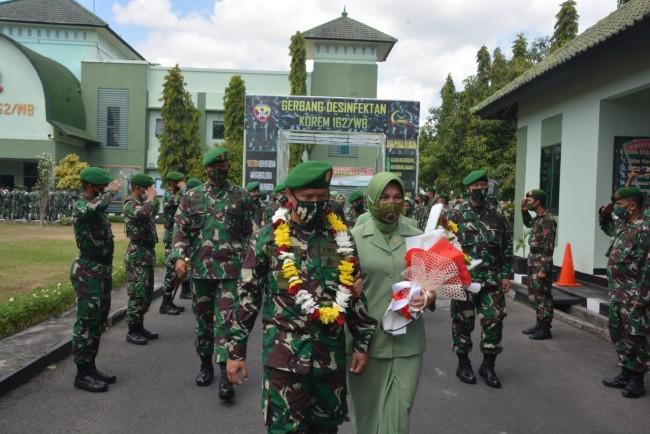 Bangga Bertugas di NTB, Letkol Inf Endarwan Yansori Serahkan Jabatan Kasrem 162/WB