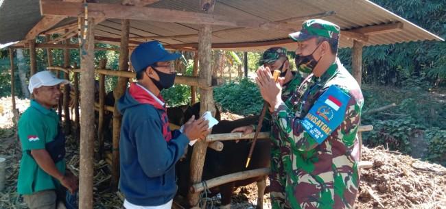 Wujud Perhatian dan Kepedulian Kepada Masyarakat Pulau Bungin, Kasad Serahkan Hewan Qurban