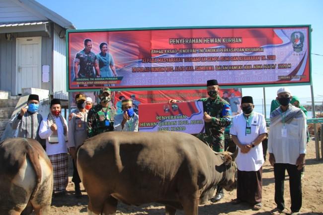 Masyarakat Pulau Bungin Ucapkan Terimakasih Kepada Bapak Kasad Jenderal TNI Andika Perkasa