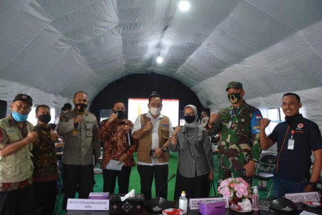 Danrem 162/WB : Satgas Rehab Rekon Zeni TNI Tetap Semangat Tuntaskan Sisa Pembangunan RTG