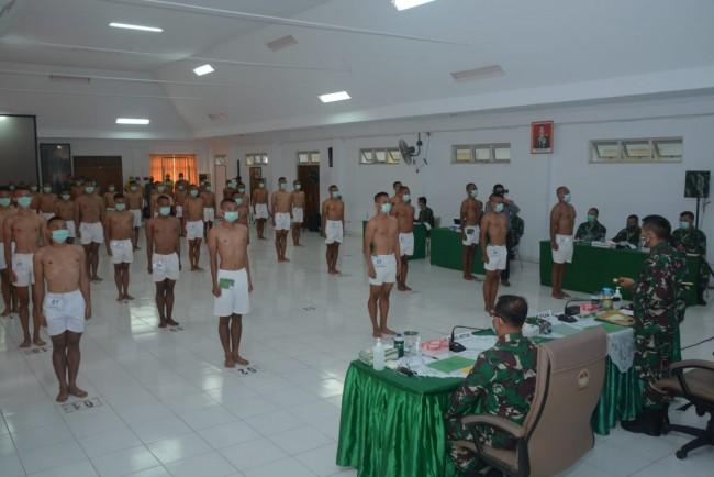 Pangdam IX/Udy Pimpin Sidang Pemilihan Caba PK TNI AD, 215 dari 325 Orang Akan Ikuti Pendidikan