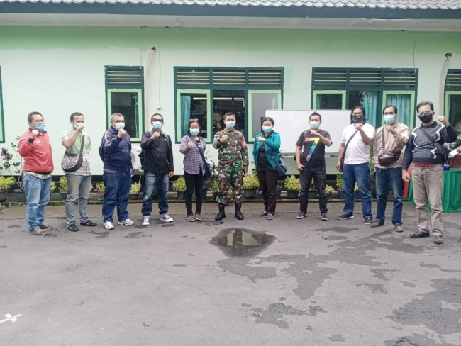 Dandim Tabanan Apresiasi Peran Aktif Media Edukasi Masyarakat di Masa Pandemi COVID-19