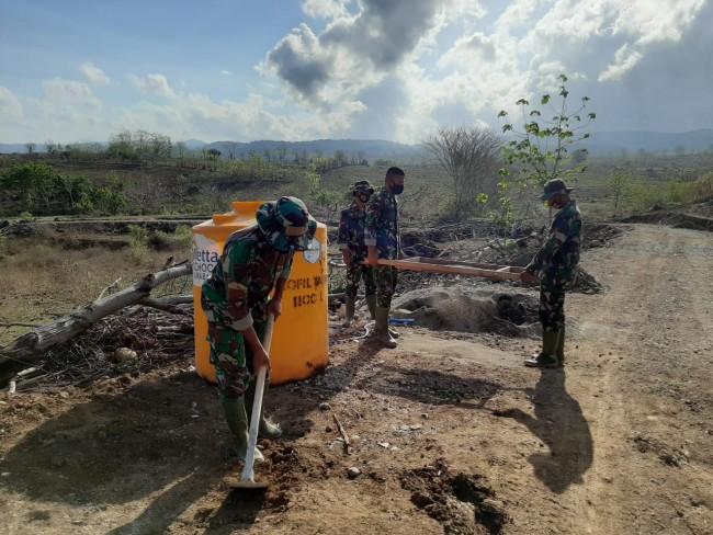 Satgas TMMD 109 Sumbawa, Buka Akses Transportasi Bantu Tingkatkan Kesejahteraan Petani
