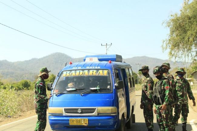 TNI Gelar Sweeping Guna Mencegah Peredaran Barang Ilegal Di Perbatasan