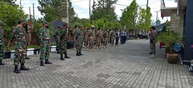Operasi Yustisi Pencegahan COVID-19 Di Wilayah Kintamani, 13 Warga Terjaring