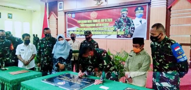 Pangdam IX/Udayana Resmikan Dua Koramil Jajaran Kodim 1628/Sumbawa Barat