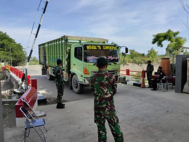 Sinergi di Perbatasan, TNI bersama Bea Cukai Laksanakan Pemeriksaan Kegiatan Import